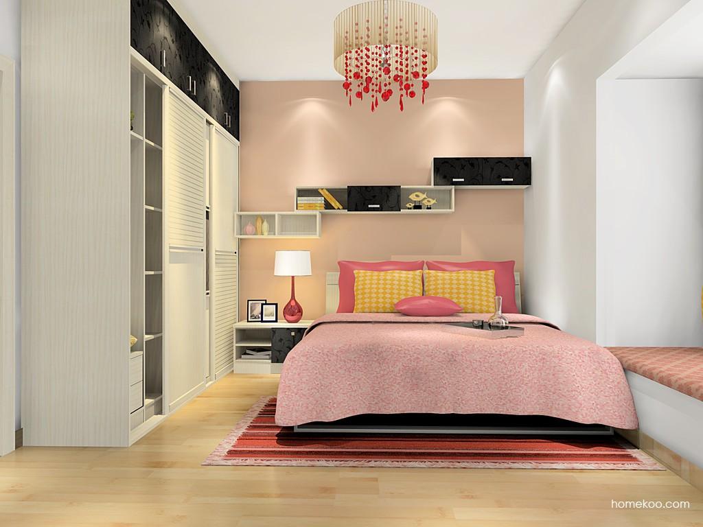 米兰剪影卧房家具A16441