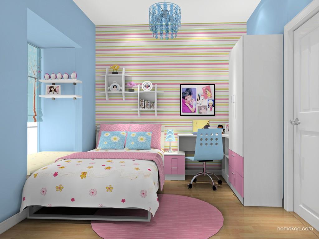 女孩的梦青少年房B16389