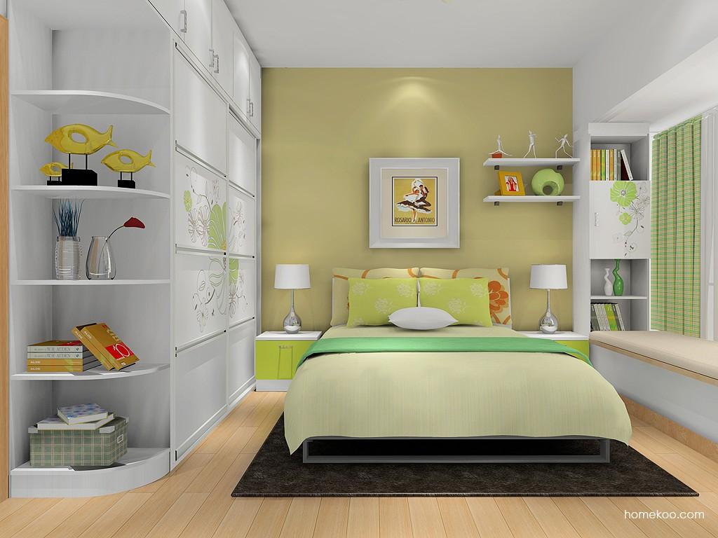 里昂春天卧房家具A16468
