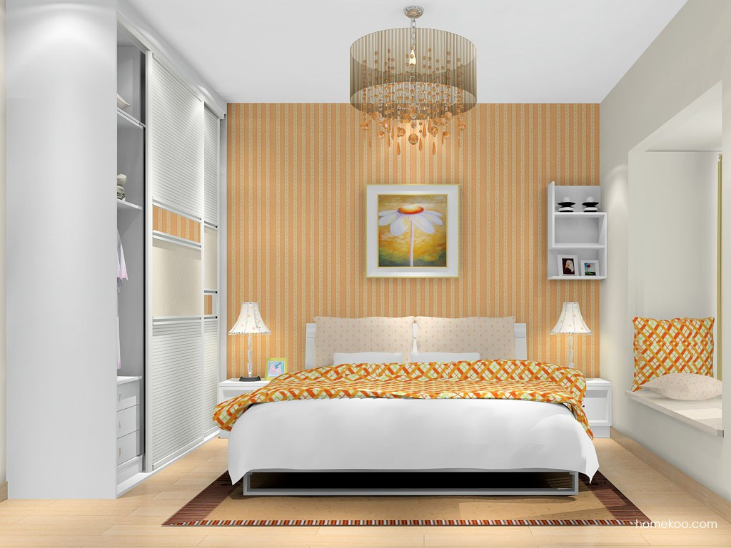 韩式田园卧房家具A16470