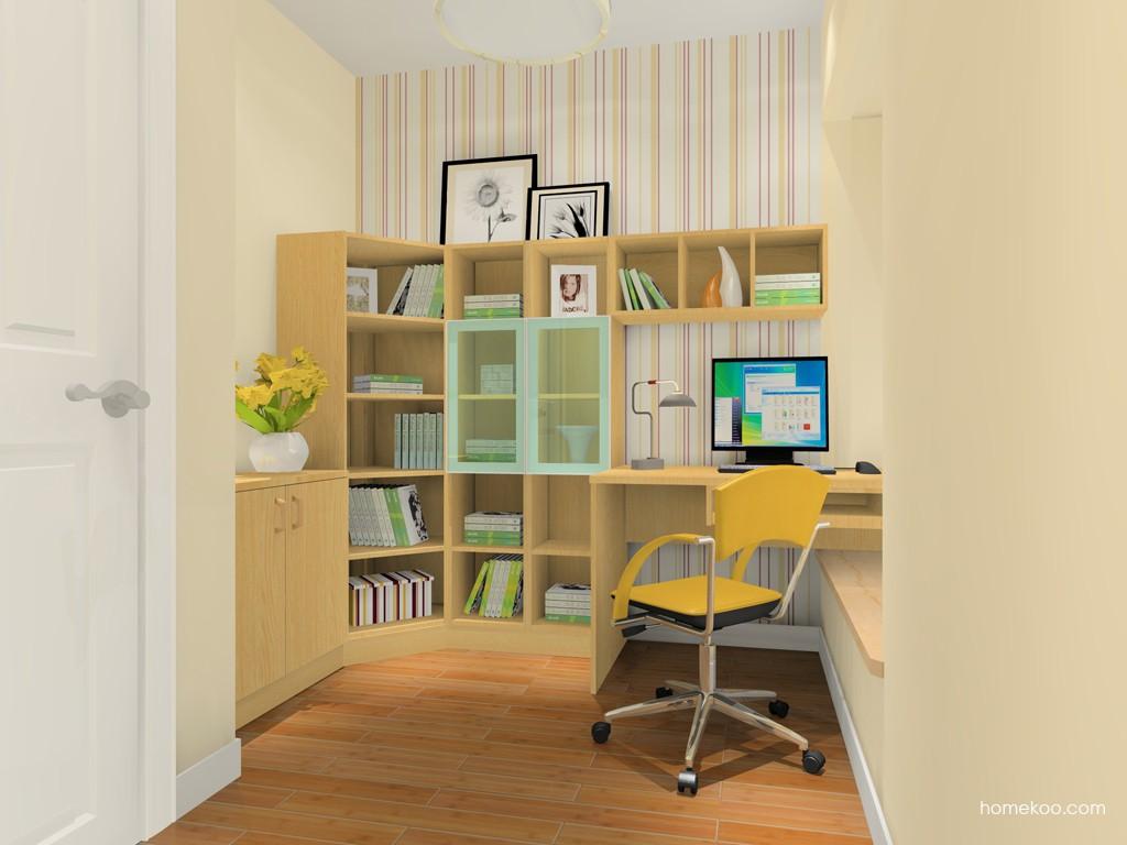 丹麦本色书房家具C15605