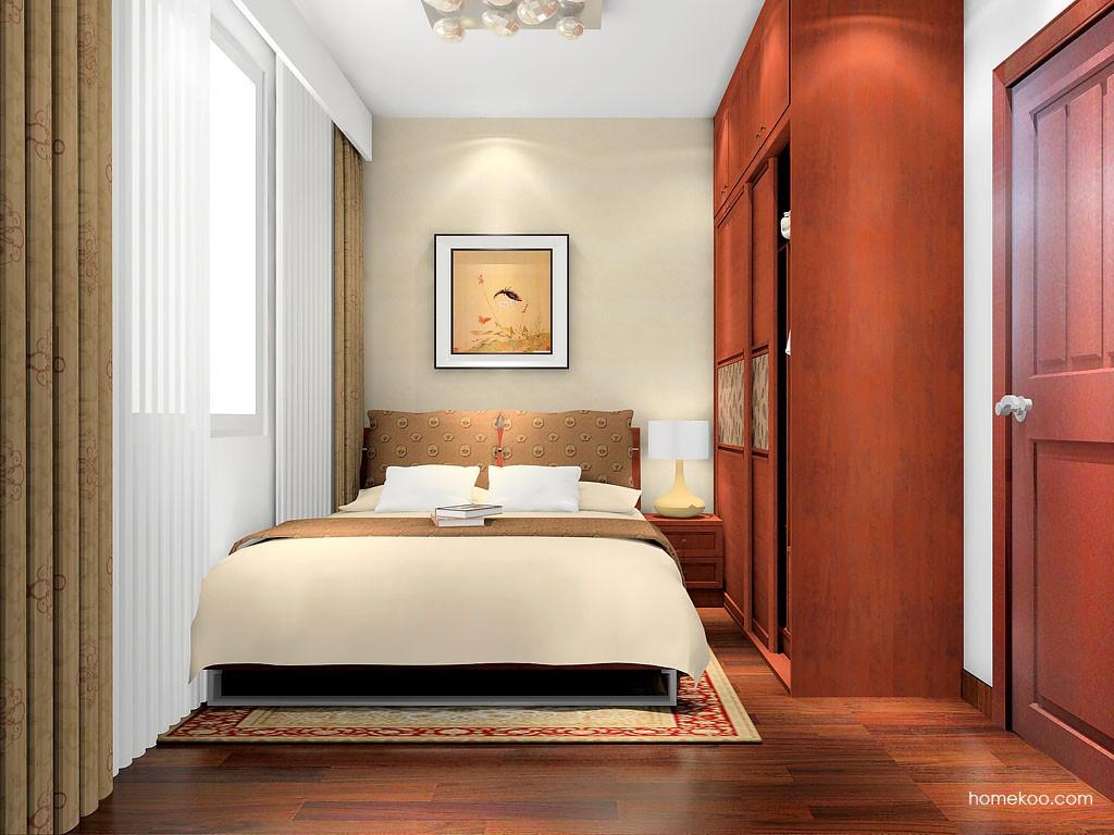 新中式主义卧房家具A16525