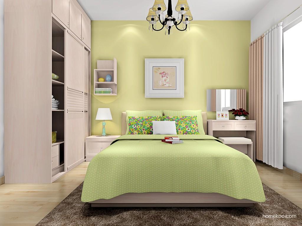 北欧阳光卧房家具A16529