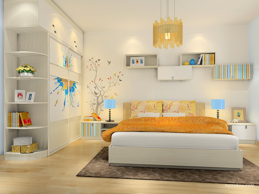 首尔之缤卧房家具A16580