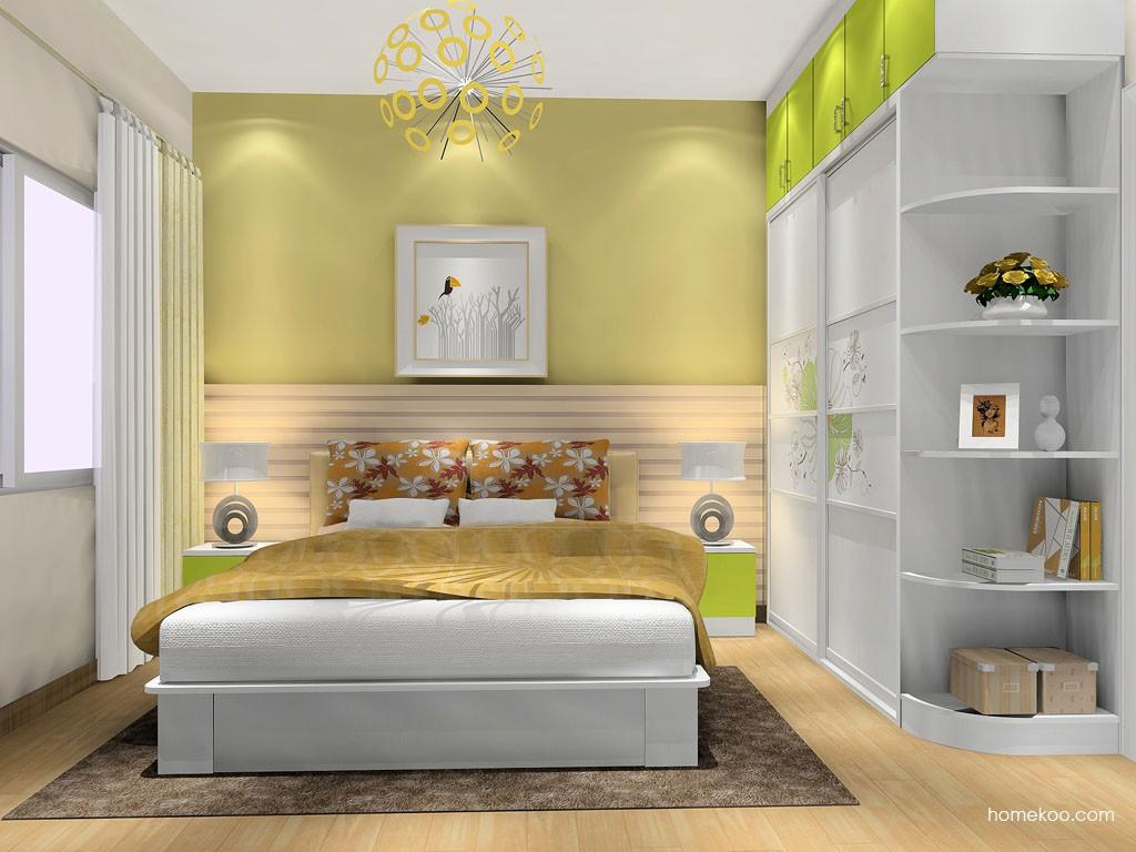 里昂春天卧房家具A16585