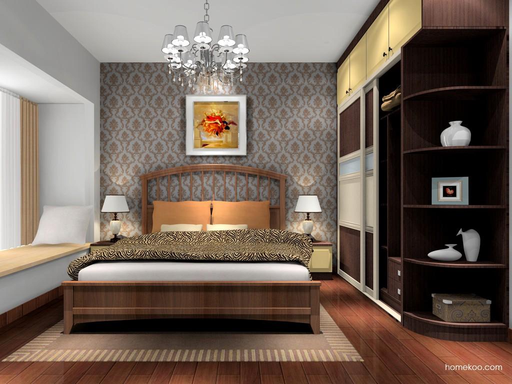 卡罗摩卡卧房家具A16592
