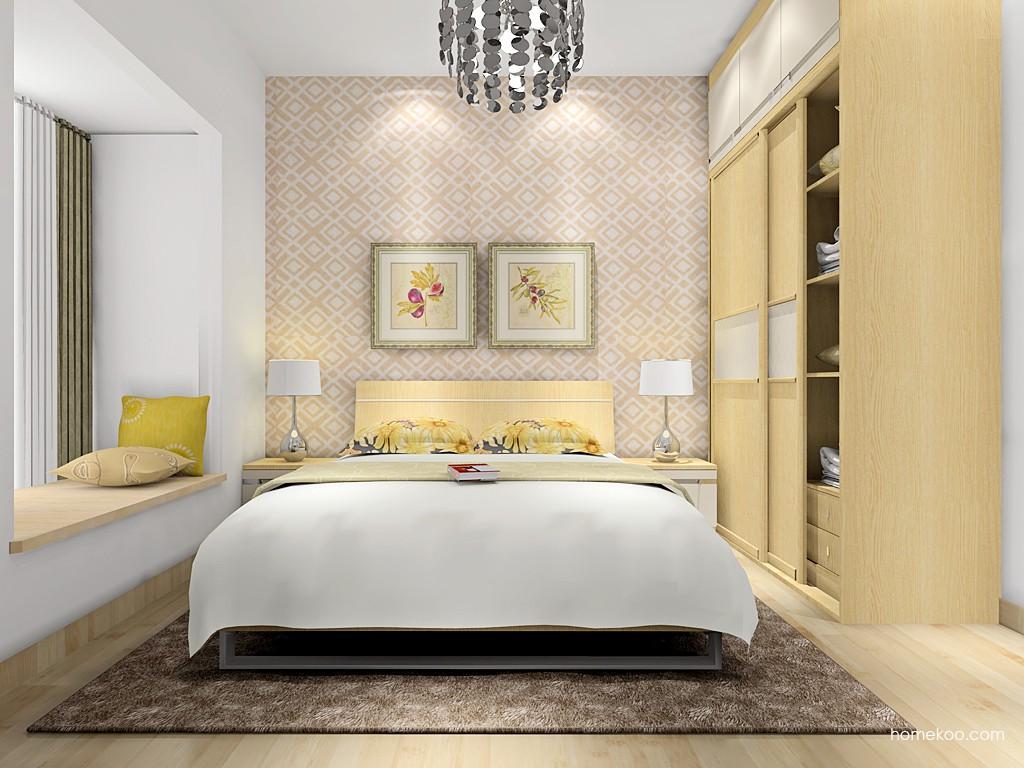 丹麦本色II卧房家具A16601