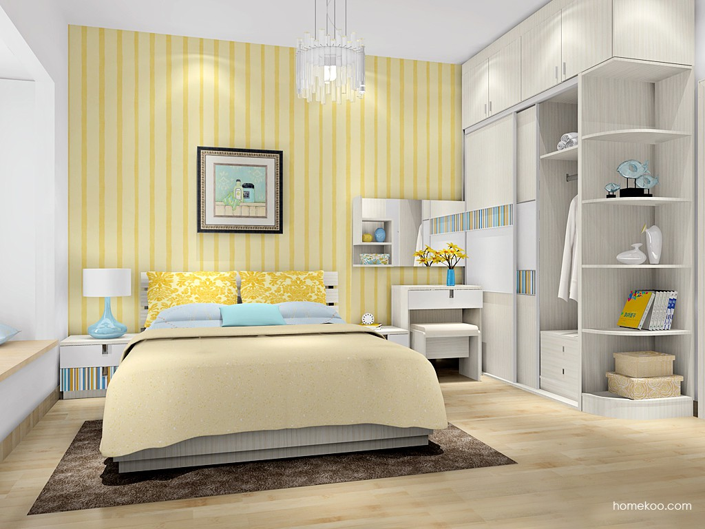 首尔之缤卧房家具A16626