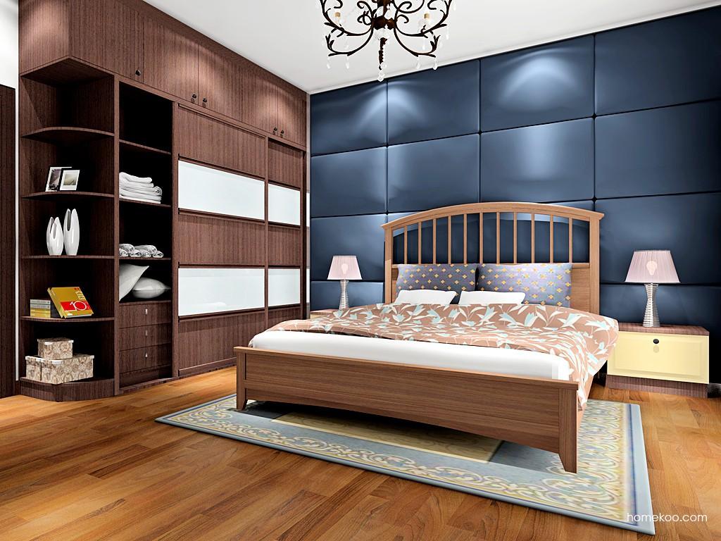 卡罗摩卡卧房家具A16636