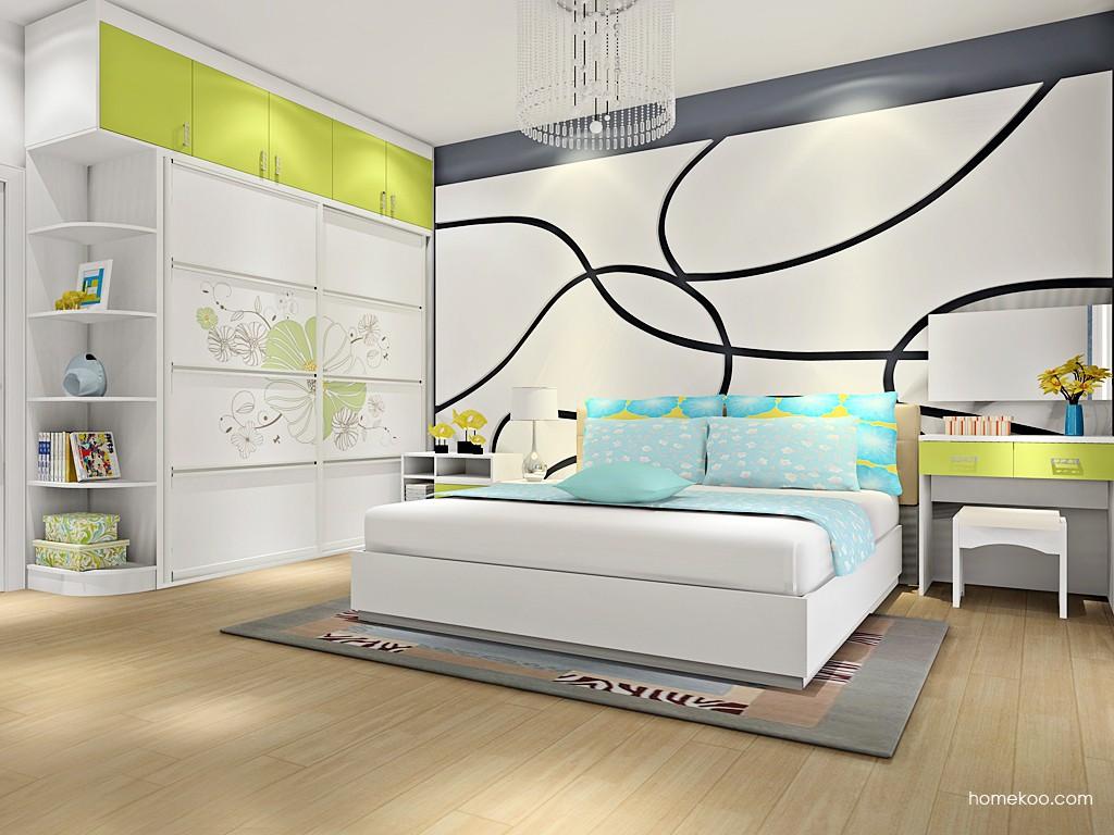 里昂春天卧房家具A16637