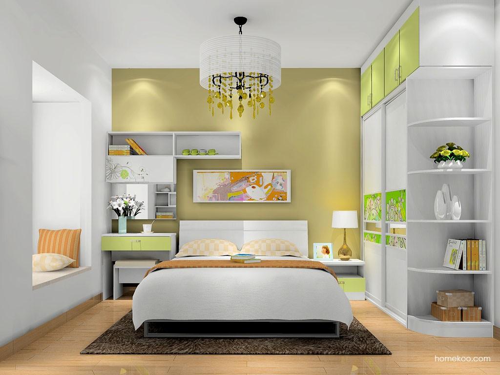 里昂春天卧房家具A16638