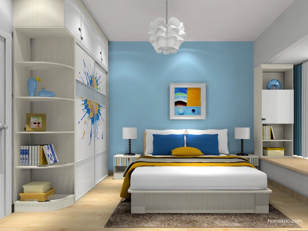 首尔之缤卧房家具A16642