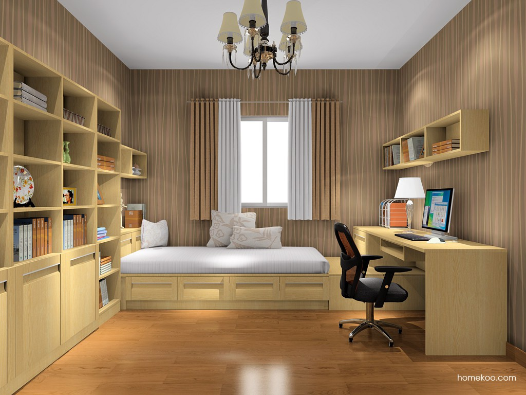丹麦本色书房家具C15706