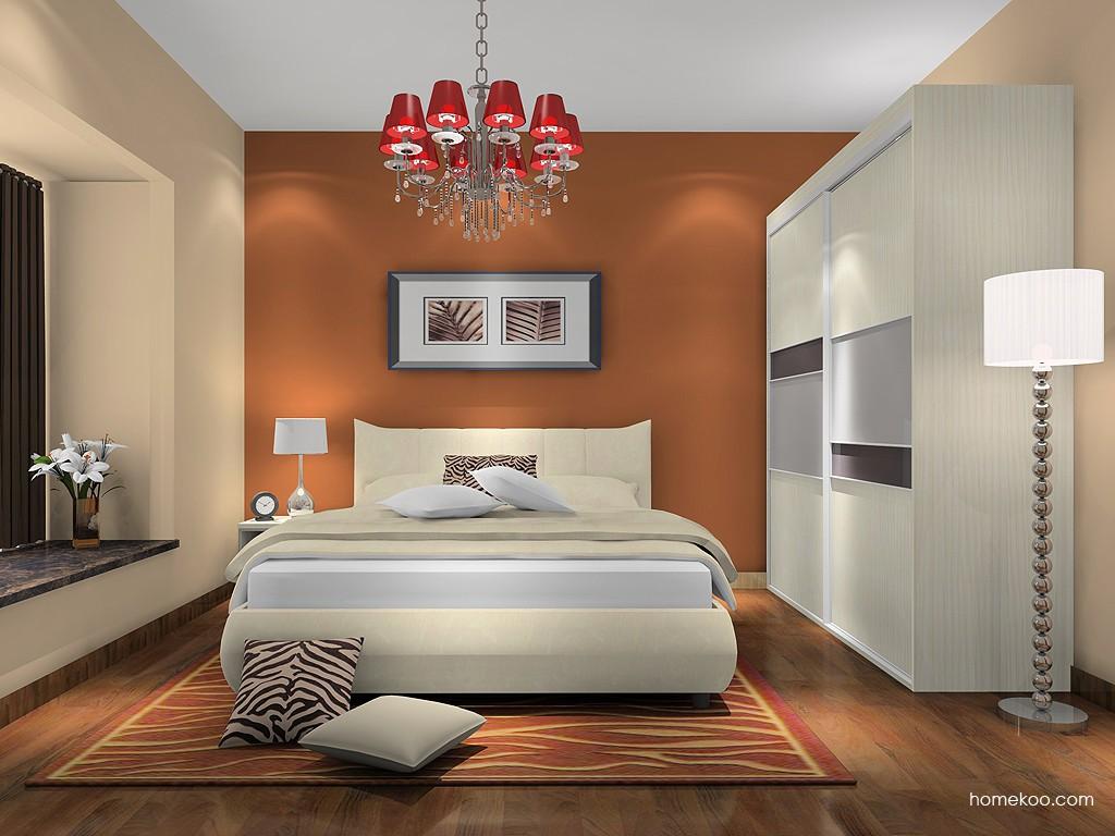 米兰剪影卧房家具A16672
