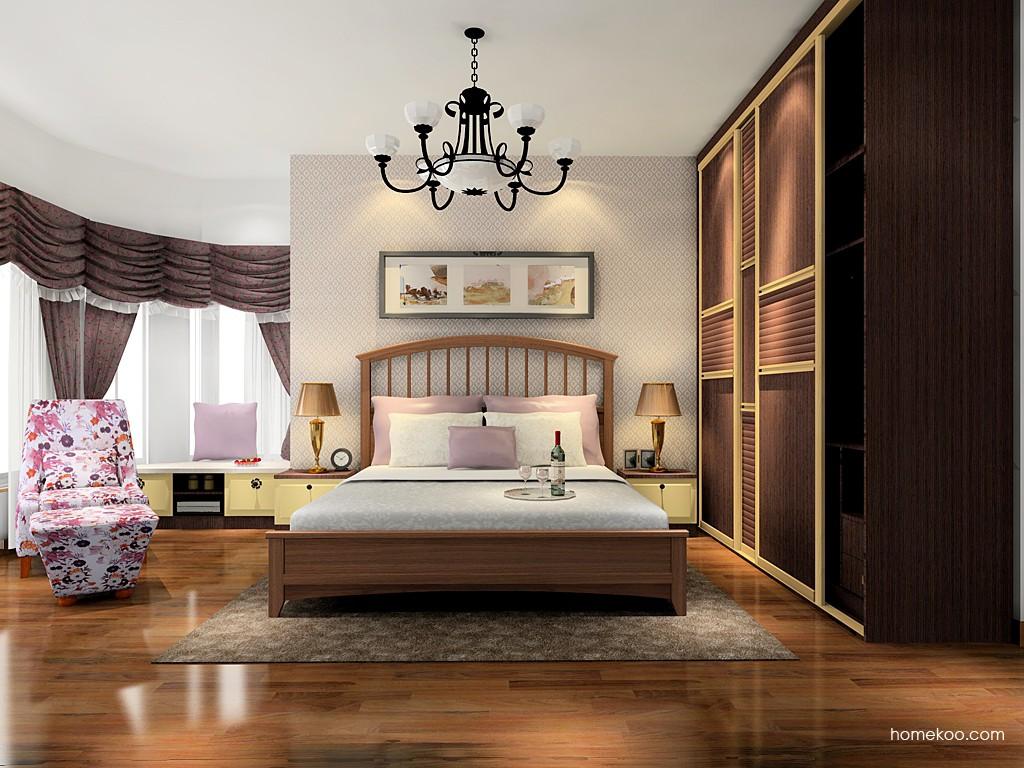卡罗摩卡卧房家具A16673