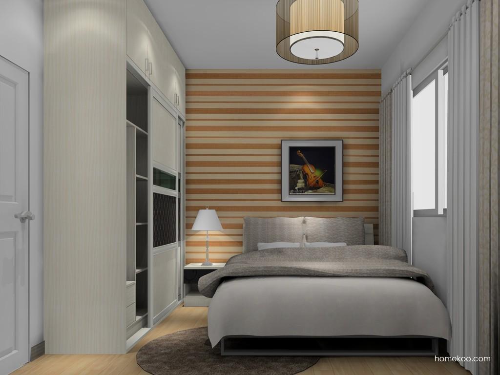 米兰剪影卧房家具A16678