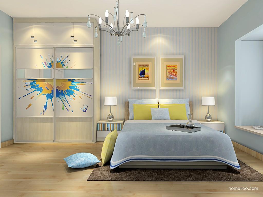 首尔之缤卧房家具A16685