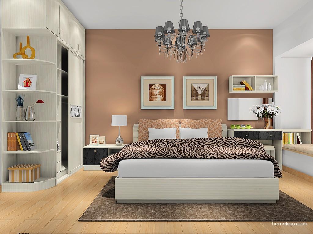 米兰剪影卧房家具A16690