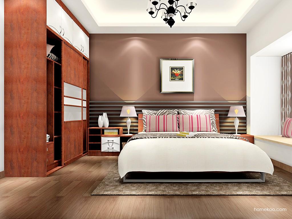 挪威月色卧房家具A16692