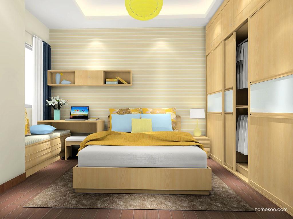 北美枫情卧房家具A16703