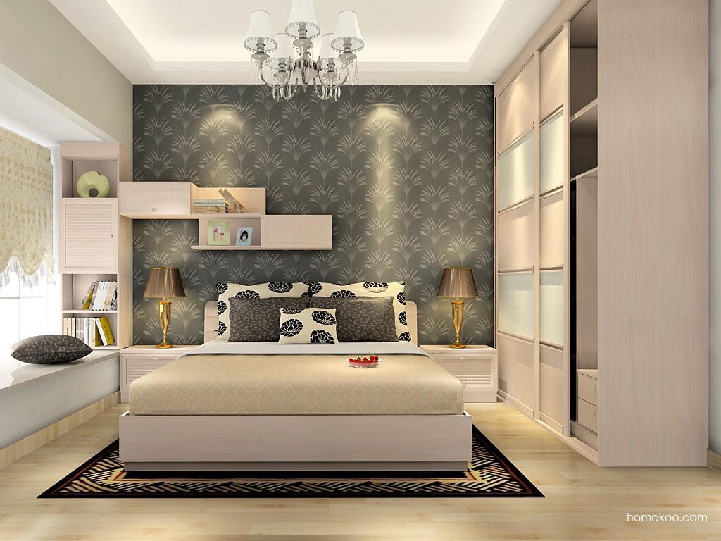 北欧阳光卧房家具A16722
