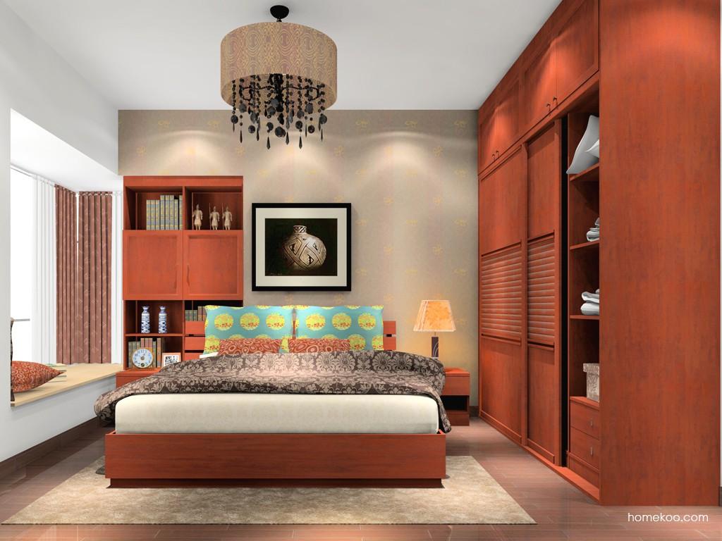 新中式主义卧房家具A16740