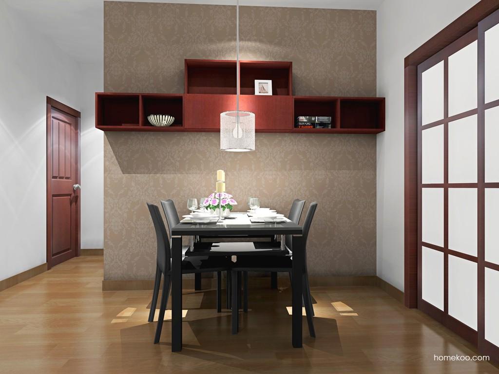 诺曼红影餐厅家具E16550