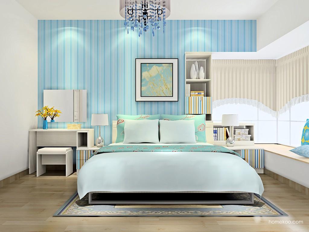 首尔之缤卧房家具A16752