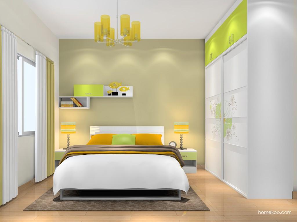 里昂春天卧房家具A16760