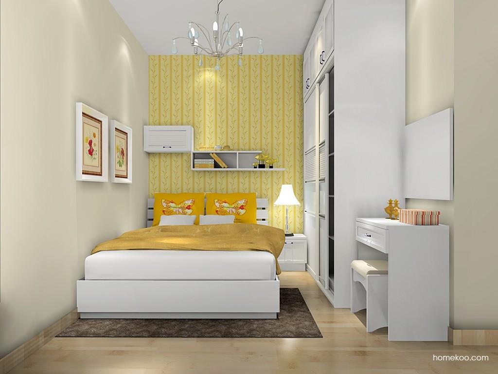 韩式田园卧房家具A16780