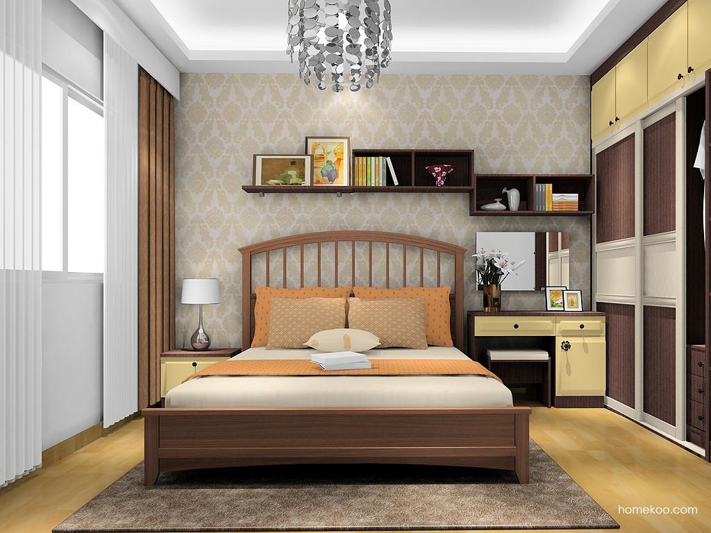 卡罗摩卡卧房家具A16782