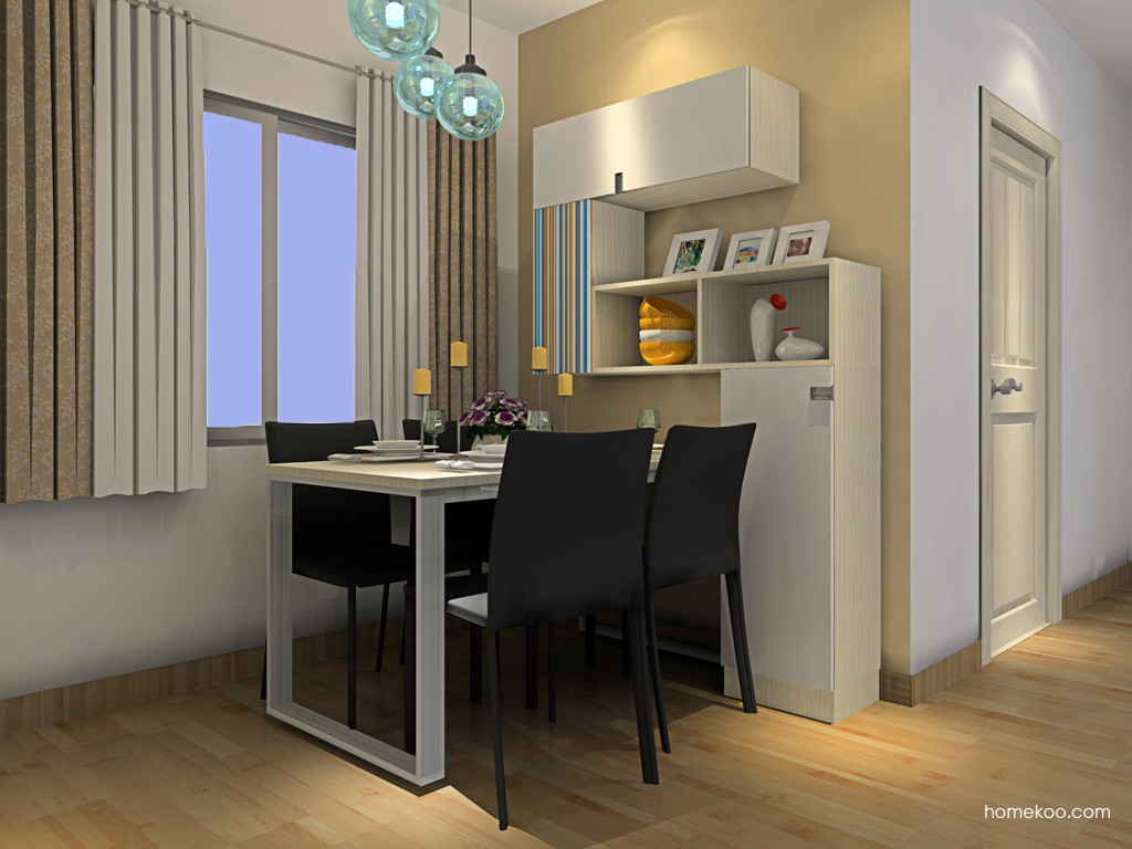 首尔之缤餐厅家具E16562
