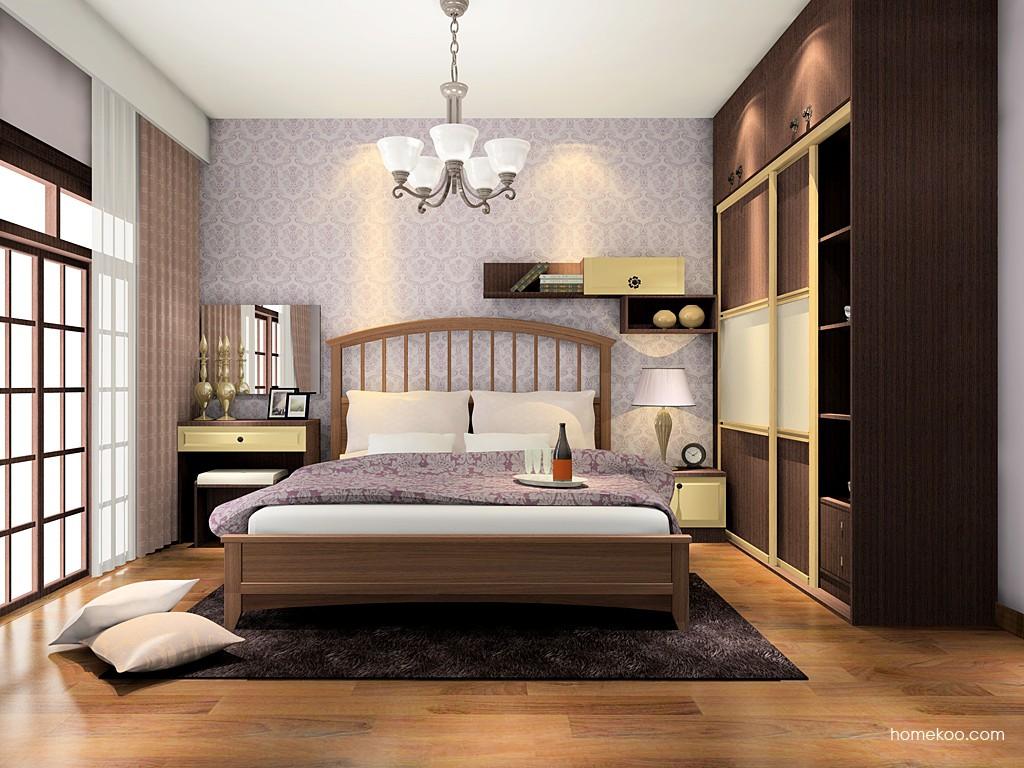 卡罗摩卡卧房家具A16799