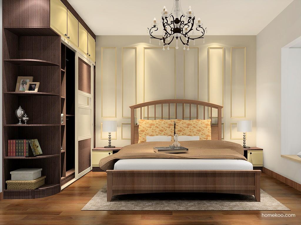 卡罗摩卡卧房家具A16805