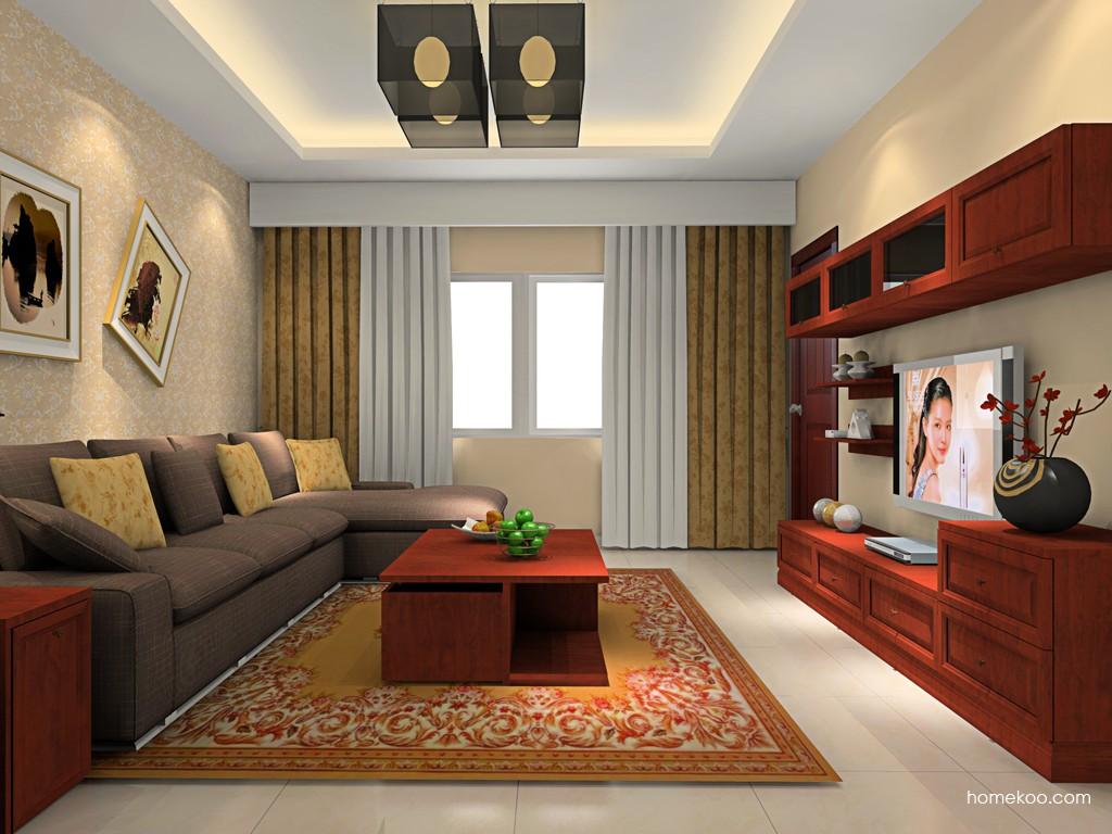 新中式主义客厅家具D16574