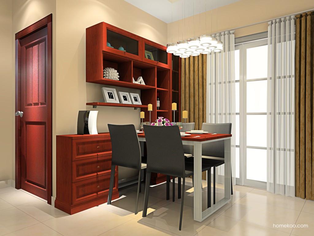 新中式主义餐厅家具E16575