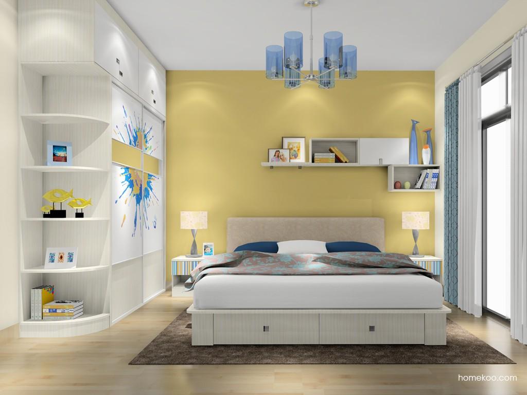 首尔之缤卧房家具A16824