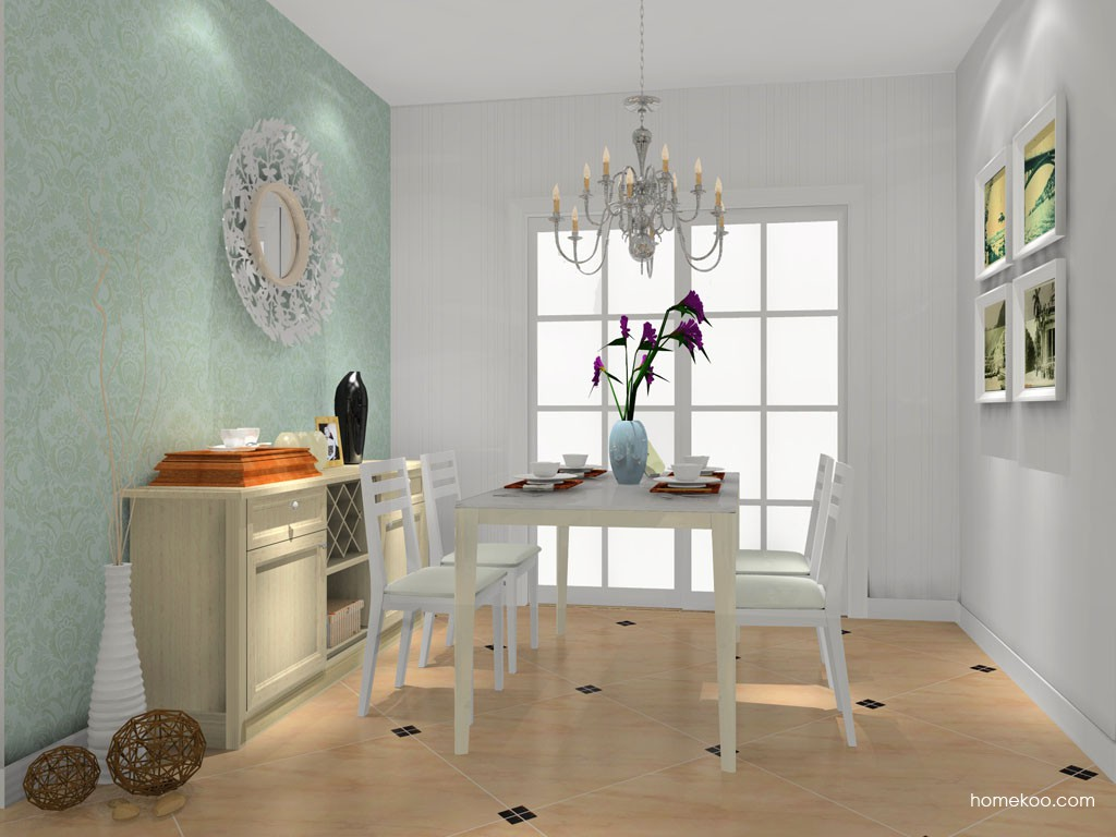 英伦印象餐厅家具E16576