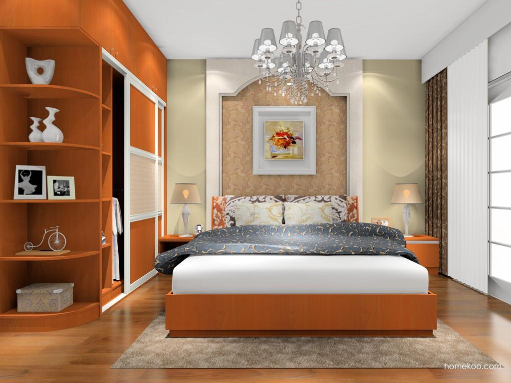 加州梦卧房家具A16828
