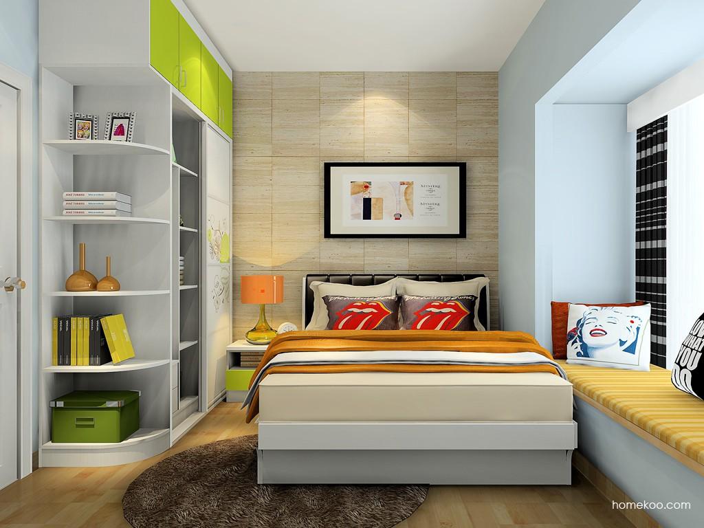 里昂春天卧房家具A16814