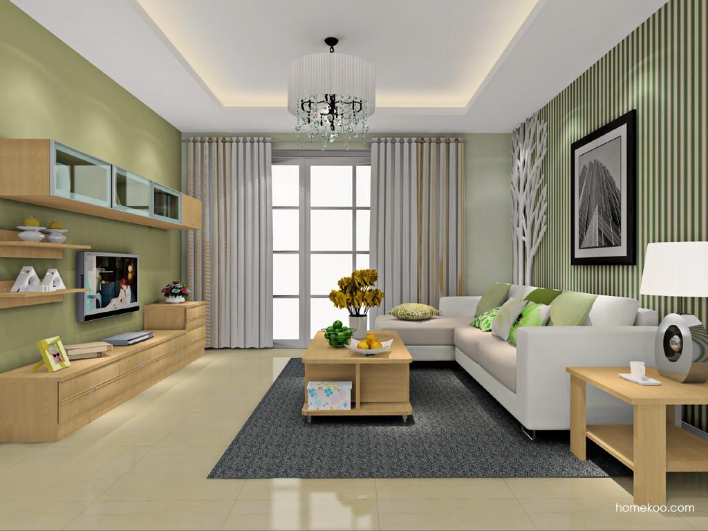 北美枫情客厅家具D16580
