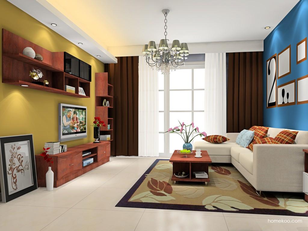 挪威月色客厅家具D16583
