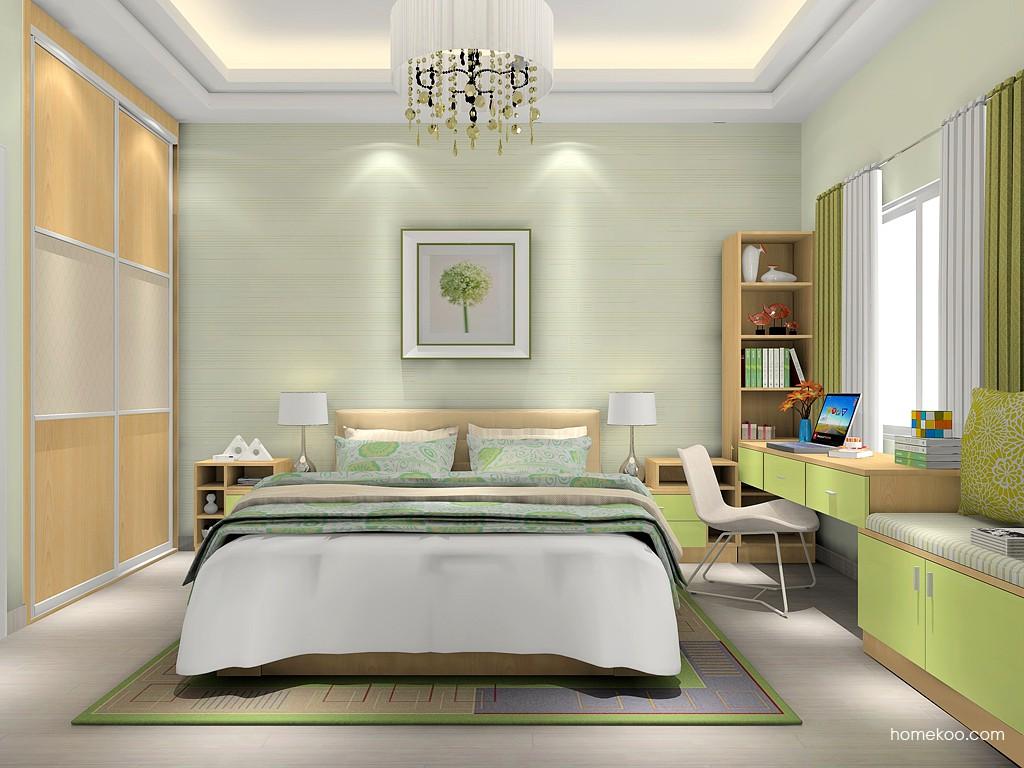 新实用主义卧房家具A16851