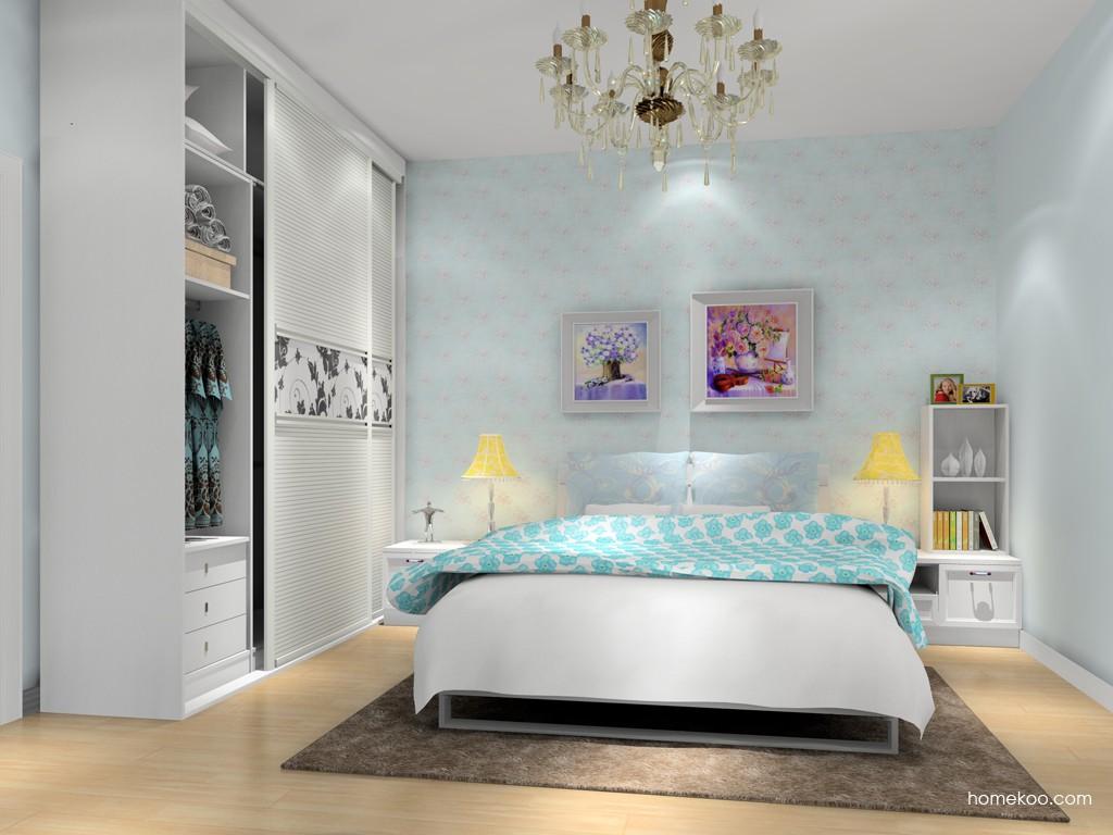 韩式田园卧房家具A16857