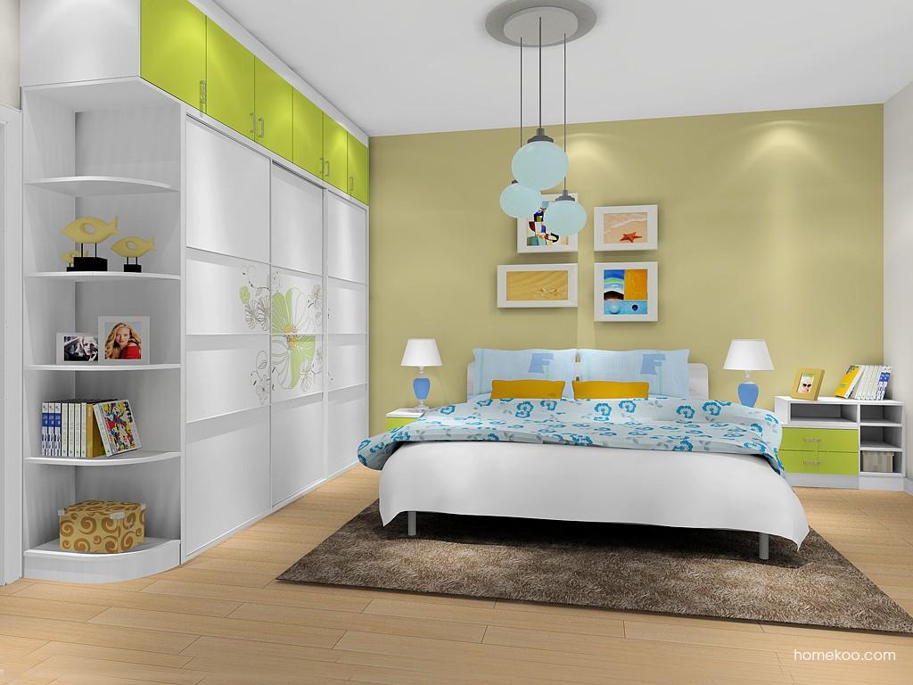 里昂春天卧房家具A16867