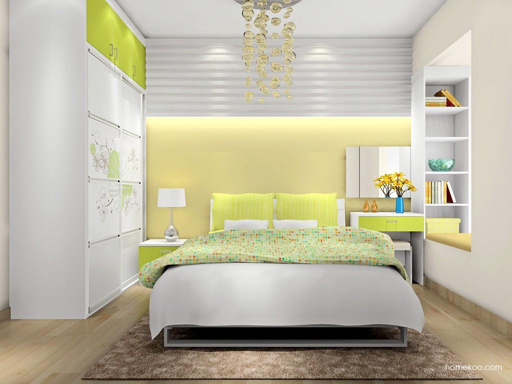 里昂春天卧房家具A16868