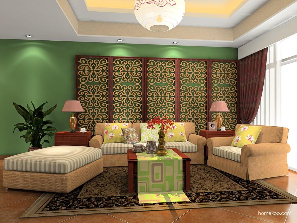 中式客厅家具D16593