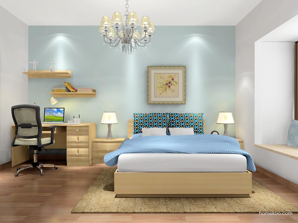 北美枫情卧房家具A16906