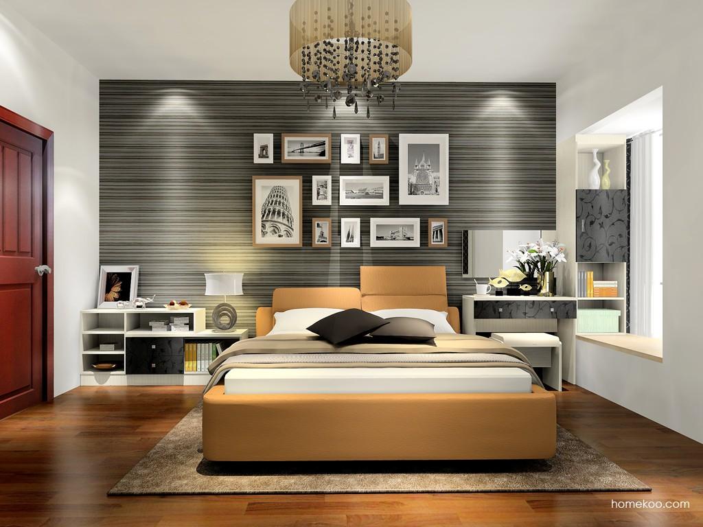 米兰剪影卧房家具A16939