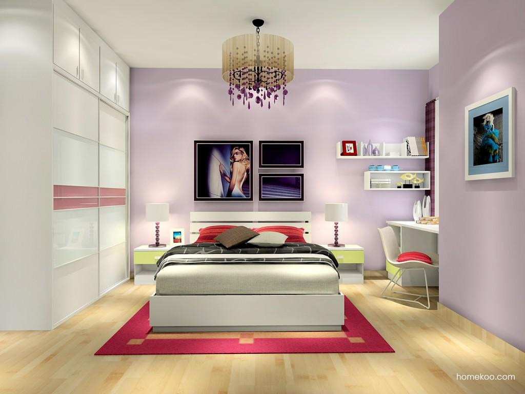 浪漫主义卧房家具A16950
